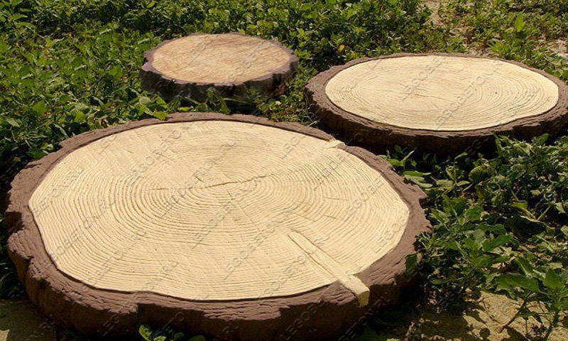 Форма Древесный срез (пенек) комплект FR127.1-5