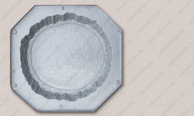 Форма «Древесный срез средний-38» FR128.1-1
