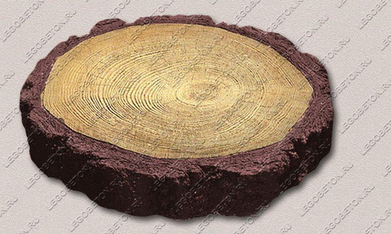 Форма «Древесный срез средний-38» FR128.1-2