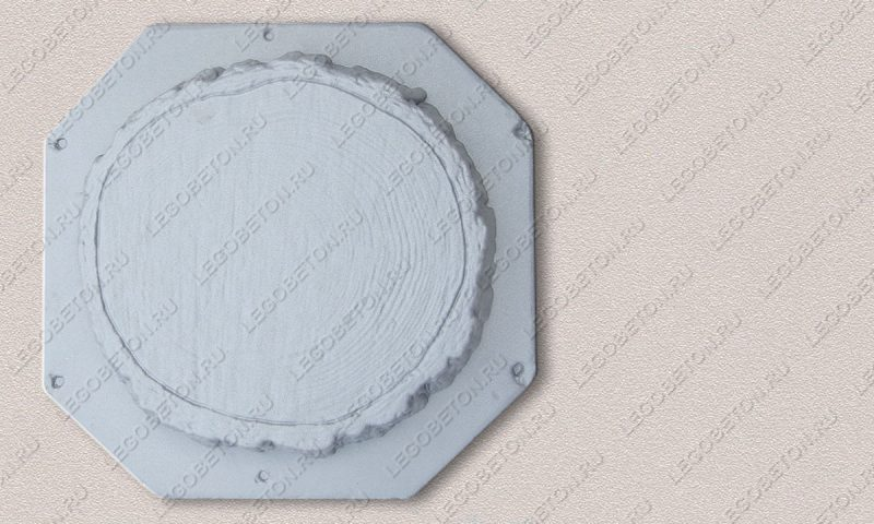 Форма «Древесный срез средний-38» FR128.1-4