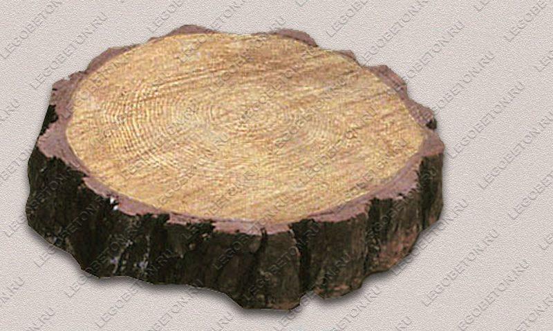 Форма «Древесный срез малый-22» FR129.1-2