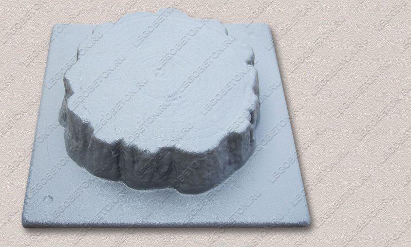 Форма «Древесный срез малый-22» FR129.1-3
