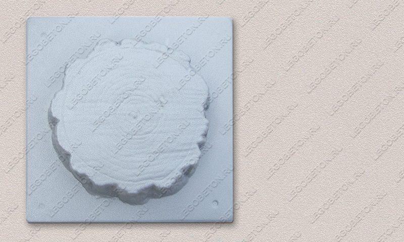 Форма «Древесный срез малый-22» FR129.1-4