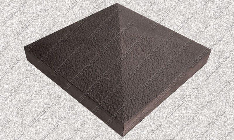 Форма «Крышка столба забора 4-х скатная» [92/1A] FR130.1-2