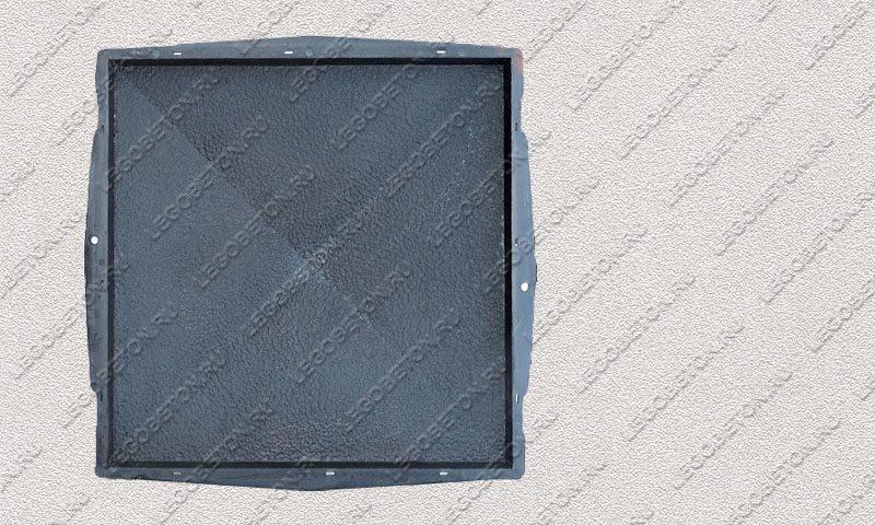 Форма «Крышка столба забора 4-х скатная» [92/1B] FR131.1-1