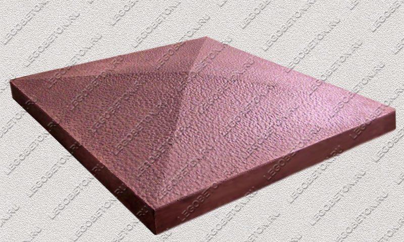 Форма «Крышка столба забора 4-х скатная» [92/1B] FR131.1-2
