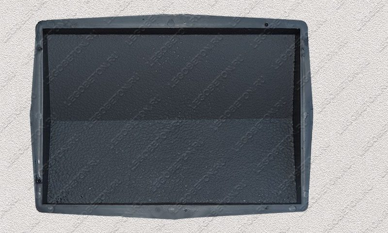 Форма «Крышка панели забора 2-х скатная» [92/2B] FR133.1-1