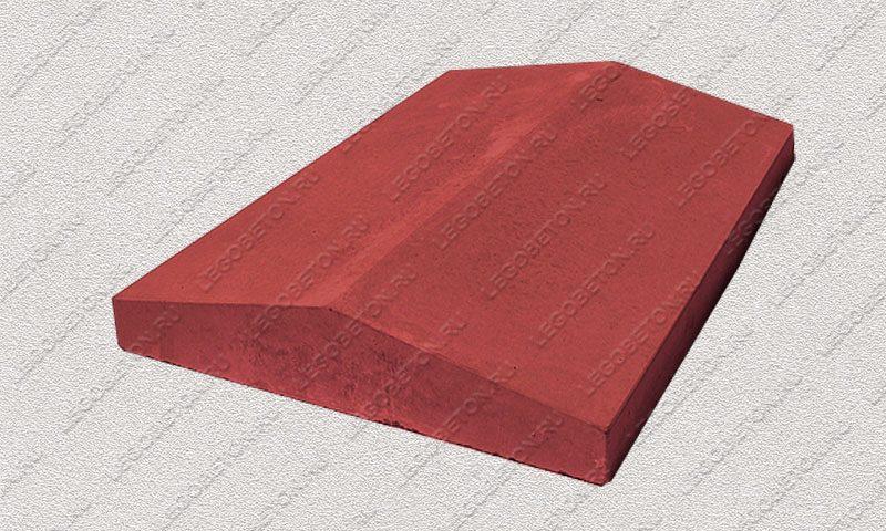 Форма «Крышка панели забора 2-х скатная» [92/2B] FR133.1-2