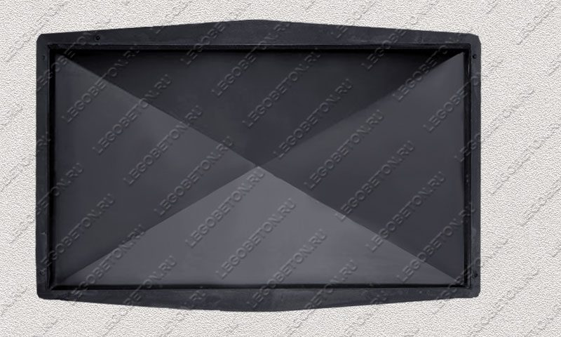 Форма «Крышка столба забора 4-х скатная» [92/4] FR136.1-3