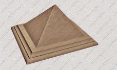 пластиковая форма для изделий из бетона Навершие забора №7 «Пирамида» купить, форма для изделий из бетона Навершие забора №7 «Пирамида» цена