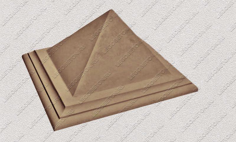 Форма «Навершие забора №7 «Пирамида»» FR143.1-1