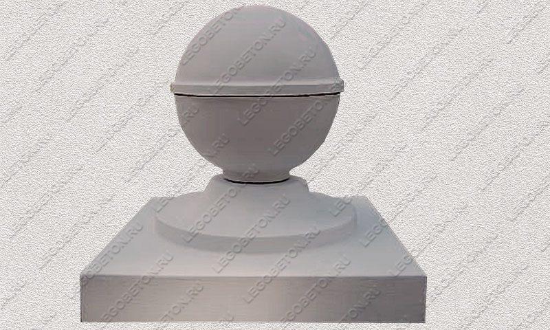 Форма «Навершие забора №10  «Шар»» FR146.1-2