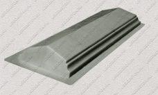 пластиковая форма для изделий из бетона Парапет забора №1 (узкий) купить, форма для изделий из бетона Парапет забора №1 (узкий) цена