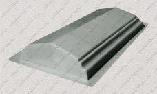 пластиковая форма для изделий из бетона Парапет забора №2 (средний) купить, форма для изделий из бетона Парапет забора №2 (средний) цена