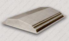 пластиковая форма для изделий из бетона Парапет забора №3 (широкий) купить, форма для изделий из бетона Парапет забора №3 (широкий) цена