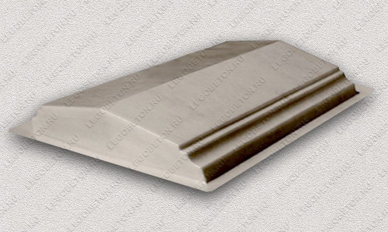 Форма «Парапет забора №3 (широкий)» FR149.1-1