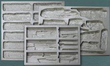 Эластичные формы для искусственного камня и плитки