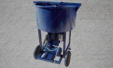 растворосмеситель принудительный для бетона РПДВ-200 вертикальный на 200 литров вертикальный - фото