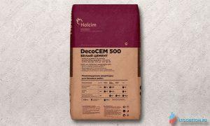 купить со склада в москве белый цемент Holcim Decocem 500 щуровский