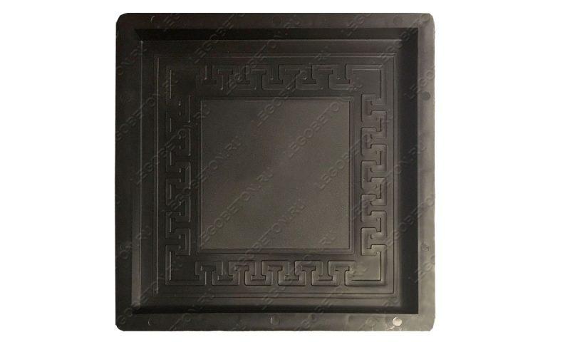 форма для плитки квадрат греческий ПП