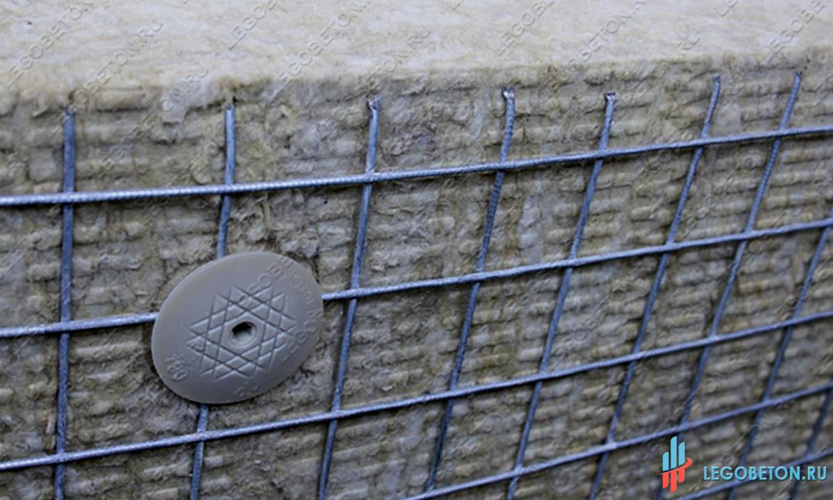 Шуруп для крепления теплоизоляции к газобетону