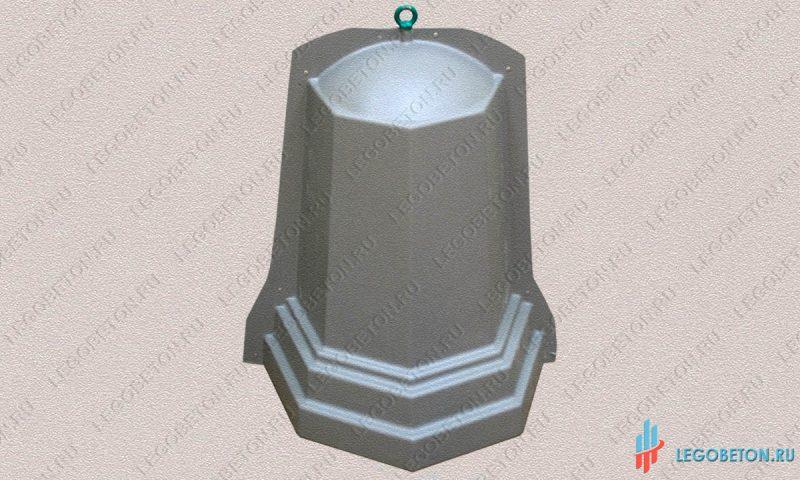 форма столб ограждения комплект N2-1