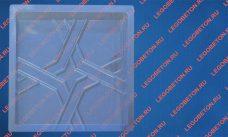 форма для плитки Квадрат Кольчуга из ПВХ