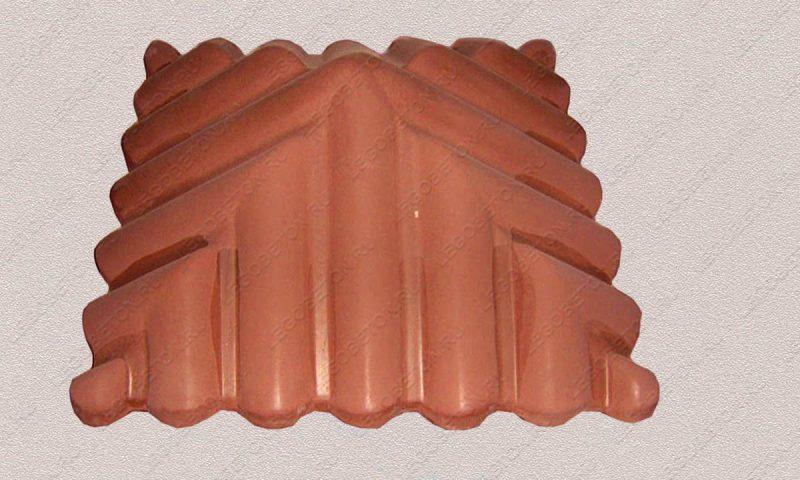 форма Крышка черепица-57х57-2