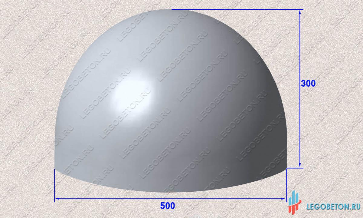 Купить форму полусфера для бетона стяжка полов цементным раствором