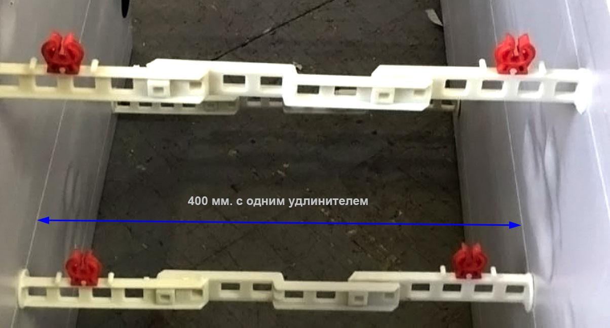 увеличение бетонного сердечника с удлинителем стяжки свт-2