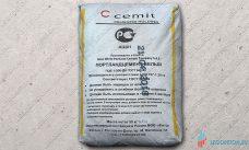 Белый цемент CEMIT М600 50кг Египет купить со склада в Москве