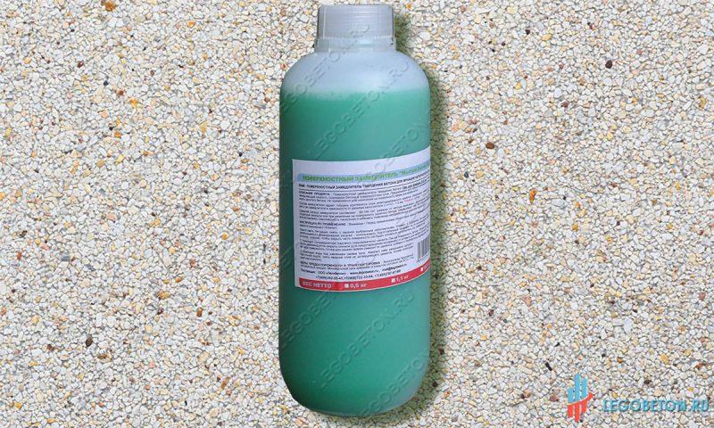Гель замедлитель твердения бетона купить смеси для бетонной стяжки