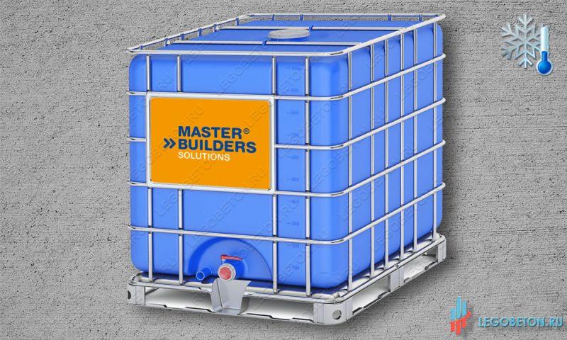 Противоморозная добавка в бетон MasterPozzolith 503, 506 (BASF) еврокуб