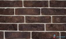 """плитка под кирпич """"Заводской"""" с комбинированной кислотной окраской - коричневый-R001"""