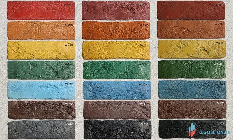 плитка под кирпич «Заводской» — MonoColor-01