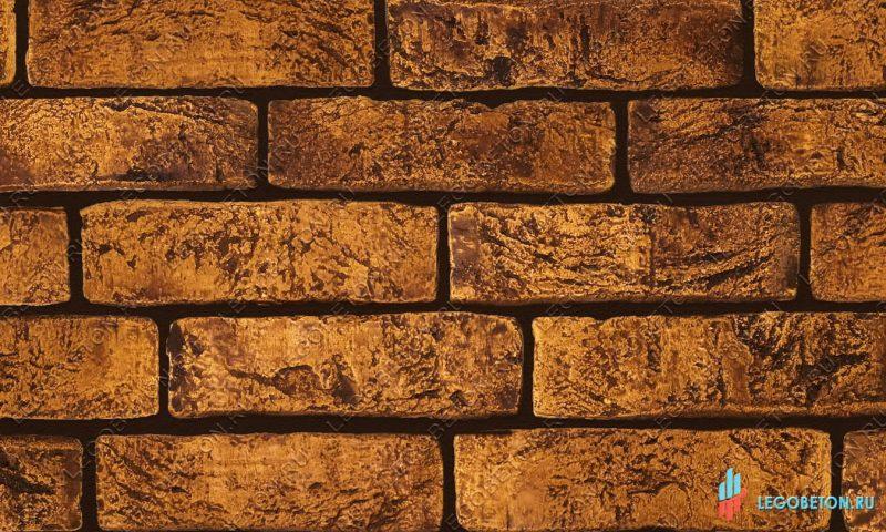 плитка под кирпич «Заводской» — Желтый-R003