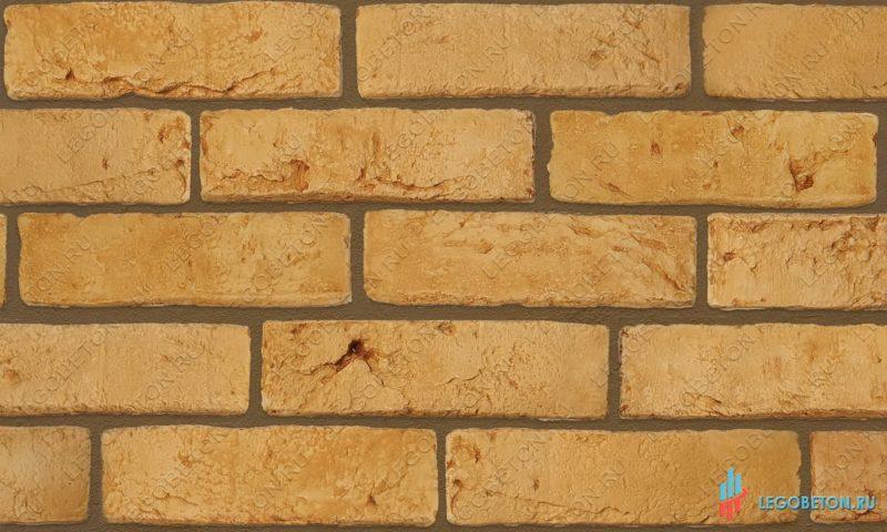 плитка под кирпич «Заводской» — Желтый-R011(2)