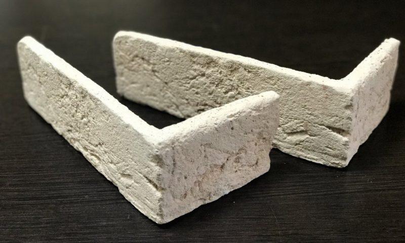 плитка под кирпич «Заводской» — угловой элемент-1
