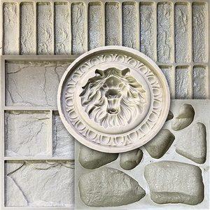 Резиновые формы для искусственного камня и плитки