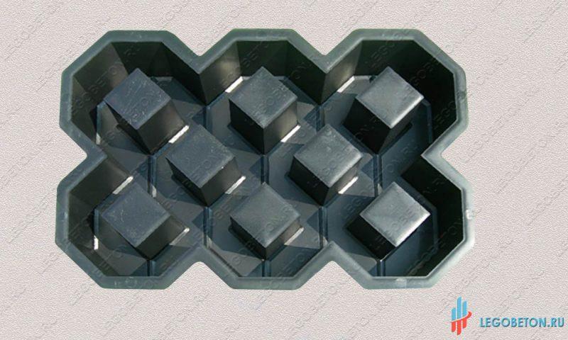 форма для плитки эко III (16.3)