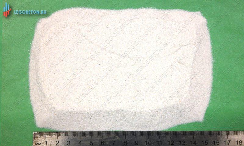 кварцевый песок белый ВС 01-04мм-1