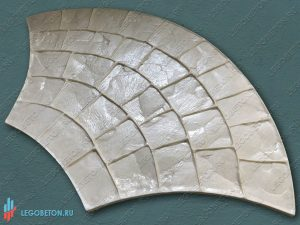 купить штамп для печатного бетона веер-3020-1
