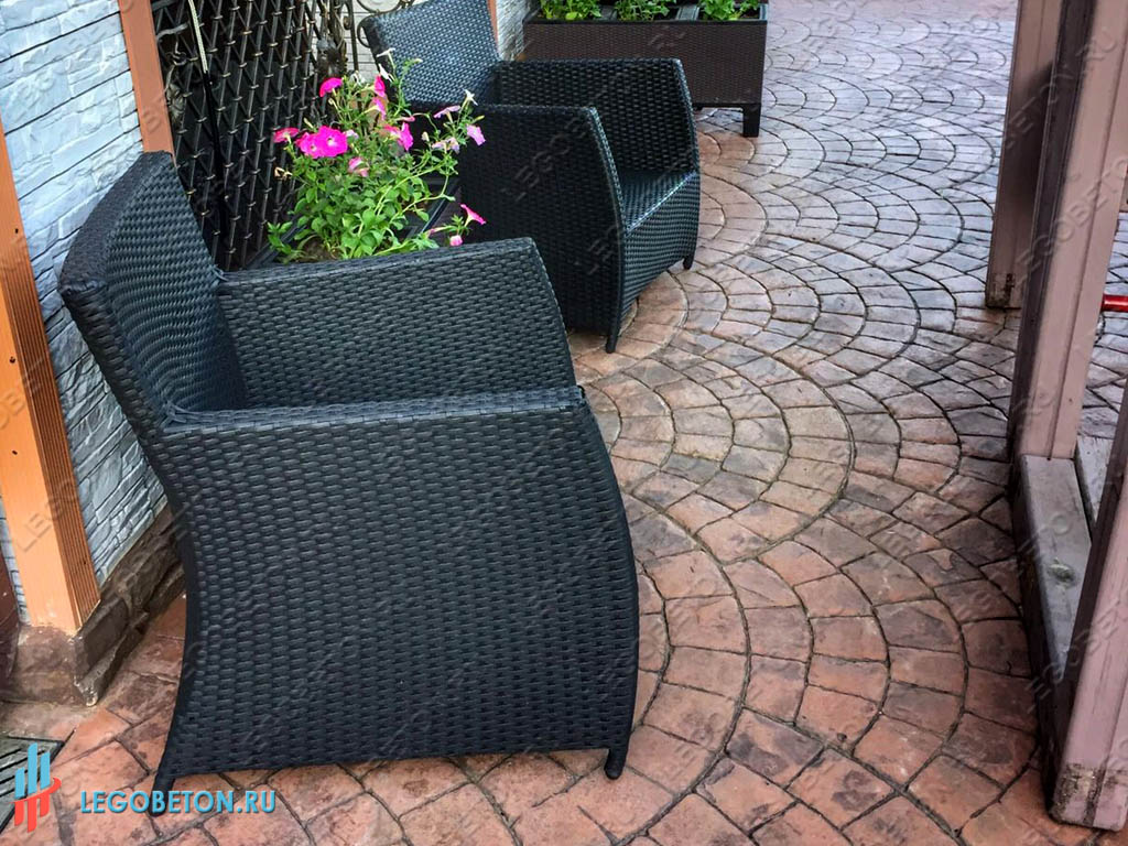 Штампы для печатного бетона в леруа мерлен купить стройкомплект бетон калининград