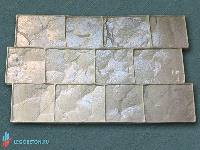 3030-штамп для печатного бетона Лондонский камень-01