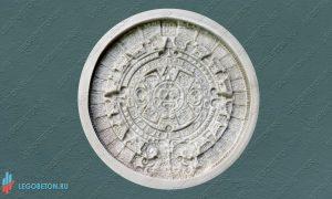 резиновая форма для изготовления панно Календарь Майя купить в Москве