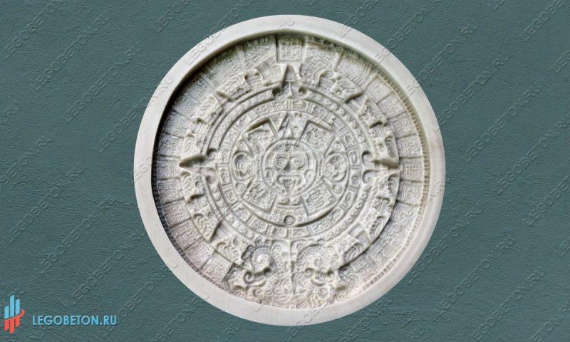 резиновая форма для панно Календарь Майя