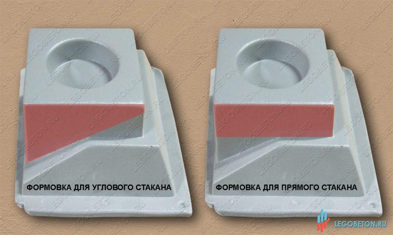 Стаканы балюстрады прямой и угловой-2
