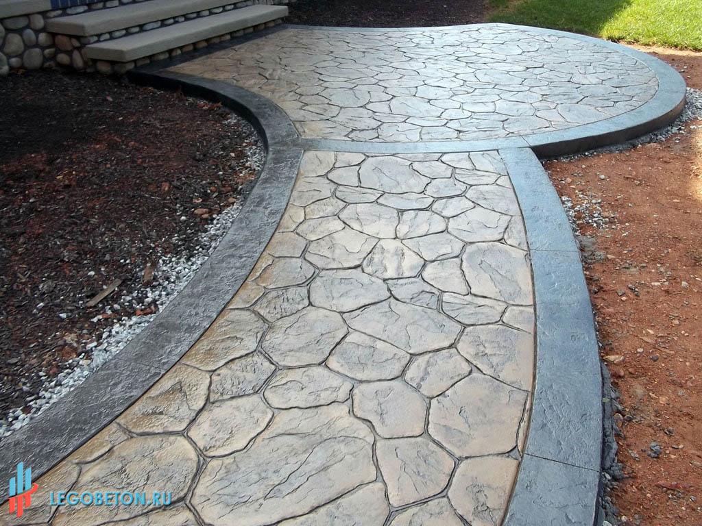 Купить штамп для бетона в интернет магазине работы по бетону москва
