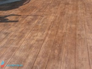 Штампованный бетон Двойная доска-01
