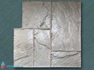 штамп для печатного бетона тесаный камень-01 купить в Москве